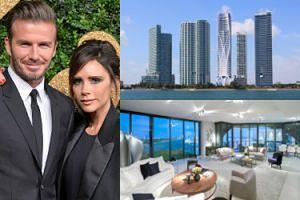 Victoria i David Beckham rozważają przeprowadzkę do luksusowego apartamentowca w Miami! (ZDJĘCIA)