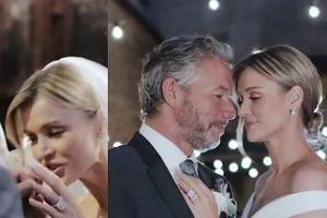 Krupa pokazała ślubne wideo! Całuje męża w rękę...