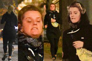 Zborowska przyłapana podczas wieczornego joggingu. Biega, by dogonić Wronę? (ZDJĘCIA)