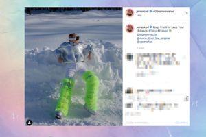 Jessica Mercedes penetruje Tatry w stylizacji na mieszkańca obcej planety