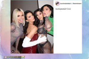 Rodzinne zdjęcie sióstr Kardashian