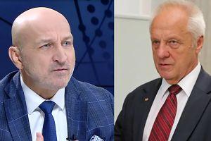 """Marcinkiewicz pociesza Niesiołowskiego: """"Stefan, wytrzymaj to!"""""""