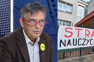 """Nauczyciele z """"Solidarności"""" strajkują mimo porozumienia. Wiceprezes ZNP: """"To już nie jest strajk związkowy"""""""