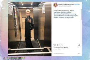 Małgorzata Kożuchowska bawi się w Wolińskiego