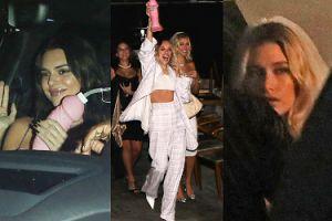 """Hailey Bieber i Kendall Jenner bawią się """"erotycznymi"""" gadżetami na wieczorze panieńskim (ZDJĘCIA)"""