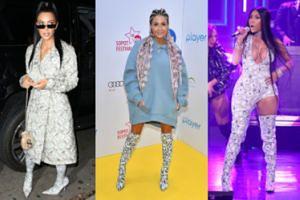Małgorzata Rozenek podpatrzyła kozaki w dolary u Kim Kardashian i Nicki Minaj? Która z nich wyglądała najlepiej? (FOTO)