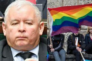"""Buńczuczny Kaczyński atakuje związki jednopłciowe: """"WARA OD NASZYCH DZIECI"""""""