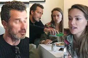 Alicja Bachleda-Curuś konsumuje obiad w towarzystwie tajemniczego bruneta. Znów jest zakochana?