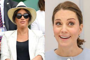 Kate Middleton została wyznaczona do PILNOWANIA Meghan Markle podczas finału Wimbledonu? Razem wybiorą się na mecz Sereny Williams