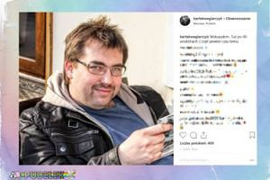 Węglarczyk pokazał stare zdjęcie