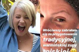"""Dorota Szelągowska pozuje z PODBITYM OKIEM: """"Warmia niczym Mielno zniszczy każdego"""" (FOTO)"""