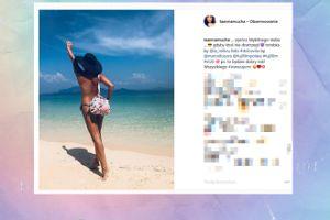 Mucha znowu świeci golizną na Instagramie