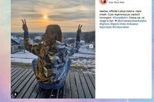 Marina pozdrawia z obozu Lewandowskiej