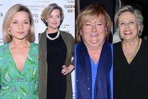 """Premiera spektaklu """"8 kobiet"""": Zamachowska, Janda, Komorowska, Foremniak... (ZDJĘCIA)"""