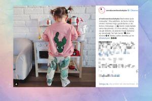 Lewandowska cieszy się, że może wybierać ubranka małej Klarze