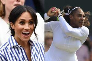 Meghan Markle popłakała się, gdy Serena Williams przegrała finał Wimbledonu!