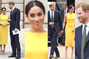 Meghan Markle i książę Harry trzymają się za ręce w drodze na bankiet (ZDJĘCIA)