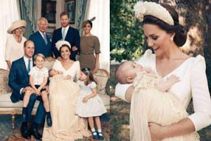 Już są OFICJALNE ZDJĘCIA z chrzcin księcia Louisa! Piękne?
