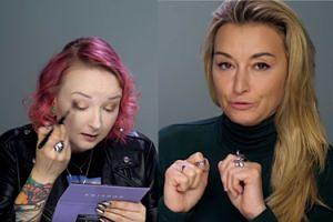 """Wojciechowska promuje się u Red Lipstick Monster: """"Nie ma czegoś takiego jak obiektywne piękno"""""""