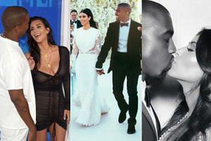 Mija 5 lat od ślubu najsłynniejszej celebryckiej pary na świecie: Kim Kardashian i Kanye Westa (ZDJĘCIA)