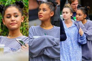 """Smutna Ariana Grande spaceruje z przyjaciółmi. """"Potrzebuje czasu, by wrócić do zdrowia"""" (ZDJĘCIA)"""