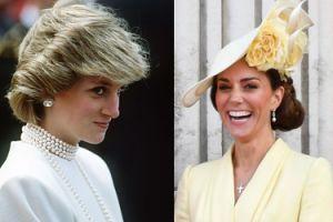 Księżna Kate przerobiła kolczyki księżnej Diany! Fani rodziny królewskiej są oburzeni