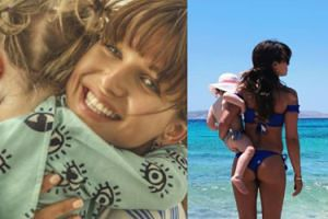 """Anna Lewandowska w bikini zachwyca się wakacjami z Klarą: """"Piękne chwile i obrazy, które warto zatrzymać"""" (FOTO)"""