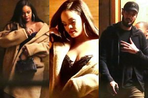 Sensualna Rihanna idzie na randkę z zakamuflowanym chłopakiem (FOTO)