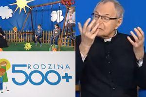 """Ksiądz w Telewizji Trwam przekonuje dzieci: """"500 plus dla każdego dziecka. CZY TO NIE PIĘKNE?"""""""