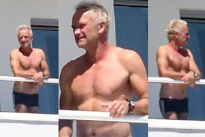 66-letni muskularny Sting wygrzewa się na słońcu w Miami (ZDJĘCIA)