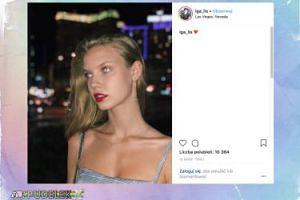 Oczy Igi Lis pozdrawiają z Las Vegas