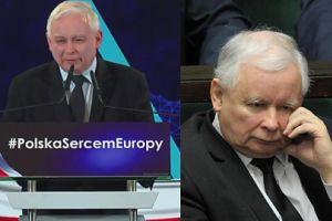 """Jarosław Kaczyński skromnie o Polsce: """"Jesteśmy smacznym kąskiem"""""""