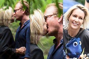 Małgorzata Ohme i Jacek Borcuch całują się namiętnie na parkingu (ZDJĘCIA)