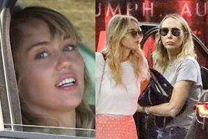 Lesbijski romans Miley Cyrus kwitnie pod okiem JEJ MATKI (FOTO)
