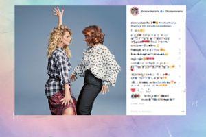 Zborowska z matką wyginają się na Instagramie