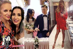 Marzena Rogalska i Marcelina Zawadzka bawią się na ślubie youtuberki (FOTO)