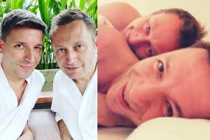 """Michał Cessanis pochwalił się INTYMNYM ZDJĘCIEM z Pawłem Rabiejem: """"Lubimy takie poranki"""" (FOTO)"""