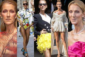"""Szczupła Celine Dion znowu szaleje na tygodniu mody! Wygląda jak """"ikona"""" stylu? (ZDJĘCIA)"""