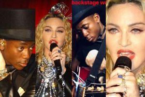 Madonna wystąpiła z 13-letnim synem na koncercie w gejowskim klubie! (ZDJĘCIA)