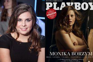 """Monika Borzym chwali się nagą sesją. """"Mam rozmiar 40, a czasem nawet 42. Jestem na okładce """"Playboya"""" i jestem z tego dumna"""" (FOTO)"""