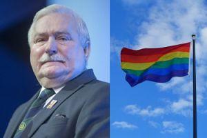 """Lech Wałęsa o osobach LGBT: """"Nie mogą chodzić za paluszki po mieście i BAŁAMUCIĆ MOJE WNUKI"""""""