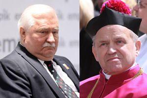"""Wałęsa broni księdza Jankowskiego przed zarzutami o pedofilię: """"Nie jestem w stanie w to uwierzyć"""""""