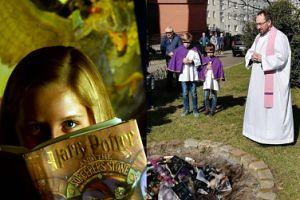 """Biblioteka Narodowa o spaleniu książek o Harrym Potterze: """"To NIEBEZPIECZNA FORMA działalności duszpasterskiej"""""""
