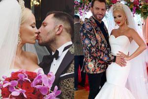 """Bajkowy ślub bohaterki """"Królowych Życia"""": trzy suknie, ogromna sala i przyjaciele z programu (FOTO)"""