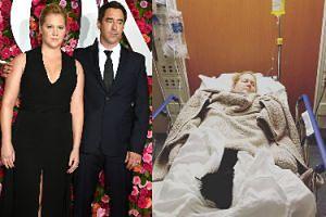 Amy Schumer trafiła do szpitala! Uspokaja, że ciąży nic nie grozi (FOTO)