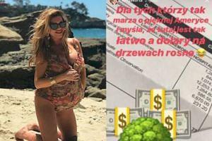 Kinga Korta zapłaciła 90 TYSIĘCY za poród! Pochwaliła się rachunkiem na Instagramie...