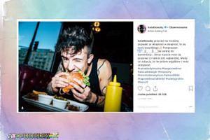 Kwiatkowski obżera się burgerem, podczas gdy jego współpracownicy nie dostali wynagrodzenia