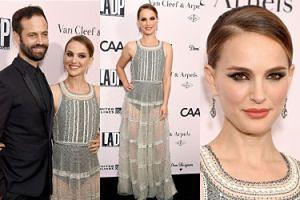 38-letnia Natalie Portman eksponuje nogi w prześwitującej sukni na gali LA Dance Project (ZDJĘCIA)