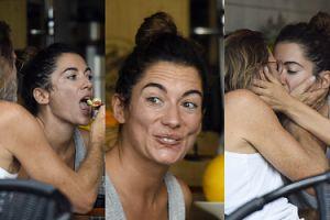 Zakochana Julia Pogrebińska dzieli się z mężem pocałunkami i kęsami w restauracji (ZDJĘCIA)