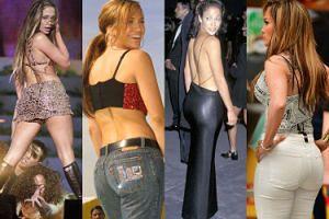 Jennifer Lopez obchodzi dziś 50. urodziny! Zobaczcie, jak zmieniały się jej pośladki (ZDJĘCIA)